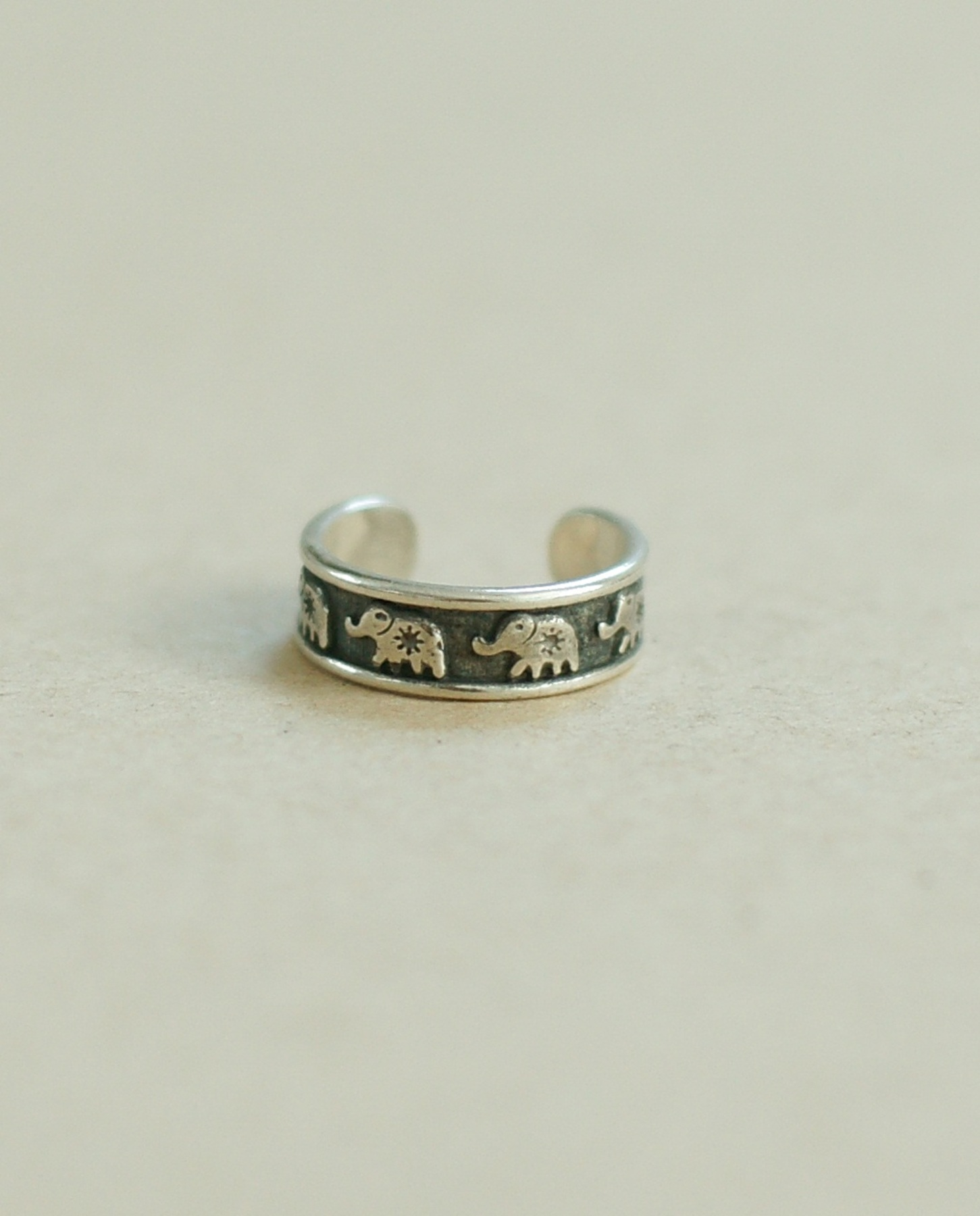Ganesha knuckle & Toe ring